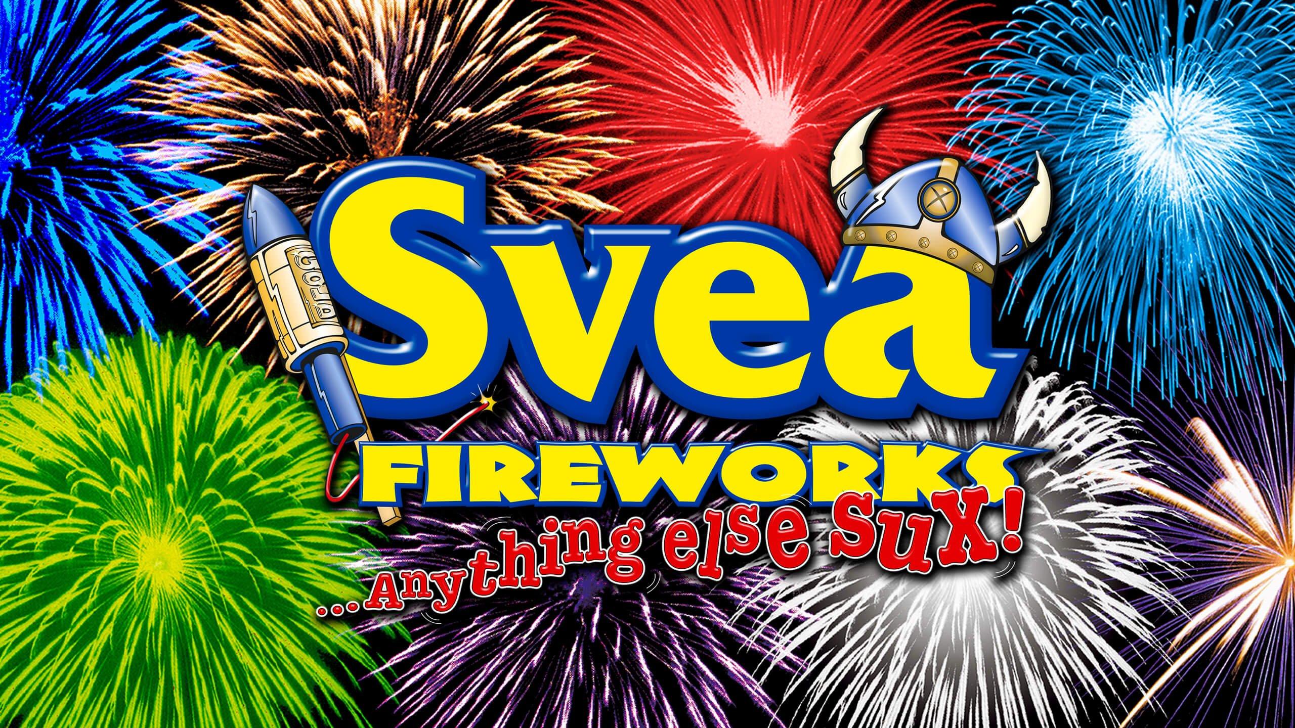 Fyrverkeri – Svea Fireworks Startside